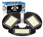 LED Garage Lights Discount 50% coupon code off Amazon