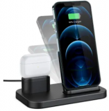2-in-1 Wireless Charging Stand Discount 60% coupon code off Amazon