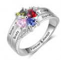 Personalized Mother Daughter Rings Discount 50% off Amazon