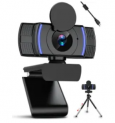 1080p HD USB Webcam with Privacy Cover Discount 52% coupon code off Amazon