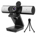 USB Webcam with Privacy Cover & Tripod Discount 50% coupon code off Amazon