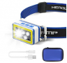 Ultra Bright USB Rechargeable LED Headlight Discount 60% coupon code off Amazon