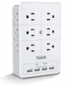 Surge Protector Wall Mount Discount 30% coupon code off Amazon