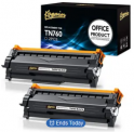 Brother TN760 Replacement Toner Cartridge 2-Pack Discount 40% coupon code off Amazon