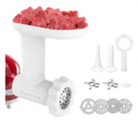 Meat Grinder Attachment Set for KitchenAid Mixer Discount 50% coupon code off Amazon
