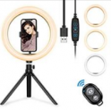 LED Ring Light with Tripod Stand Discount 50% off Amazon