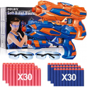 2 Pack Blaster Toy Guns for Boys for Nerf Guns Bullets Discount 60% coupon code off Amazon