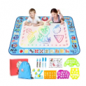 40″ x 30″ Large Doodle Water Drawing Mat Discount 50% coupon code off Amazon