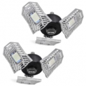 60W Deformable Garage Light 2-Pack Discount 50% coupon code off Amazon