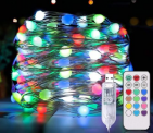 Led String Lights Decorative Lights for Bedroom 100 LED Discount 70% coupon code off Amazon