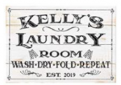 Personalized Laundry Sign Discount 70% off Amazon
