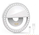 Selfie Light Ring Led Circle Clip-on Selfie Fill Light with Discount 50% coupon code off Amazon