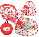 Ball Pit Tunnels and Play Tent for Toddlers Discount 50% coupon code off Amazon