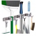 17″ Wall Mounted Mop and Broom Organizer Discount 40% coupon code off Amazon