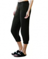 Women's Smocked Capri Pants (Large Only) Discount 50% coupon code off Amazon