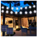 20-Foot Solar Crystal Globe String Light 2-Pack Discount 50% coupon code off Amazon