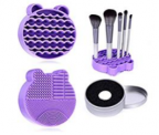 Silicone Makeup Brush Cleaner Mat Discount 60% coupon code off Amazon