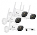 Wifi Security Home Video System with 4 Networked Cameras and Mini NVR Discount 30% coupon code off Amazon
