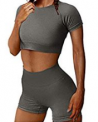 Waisted Shorts Yoga Outfits Discount 60% off Amazon