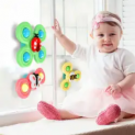 Suction Cup Spinner Baby Toy 3-Pack Discount 50% coupon code off Amazon