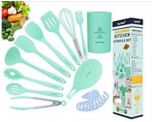 20in1 Silicone Cooking Kitchen Utensils Set Discount 50% off Amazon