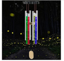 Solar Wind Chimes Light Changing Colors Discount 50% coupon code off Amazon