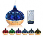 500ml Glass Essential Oil Diffuser Discount 40% coupon code off Amazon
