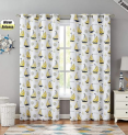 Kids Room Blackout Window Curtain Panels  Discount 60% coupon code off Amazon