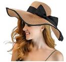 Womens Beach Hat Discount 50% coupon code off Amazon