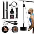 LAT and Lift Pulley Fitness System Discount 50% coupon code off Amazon