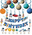 Space birthday party Decoration Discount 40% off Amazon