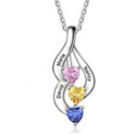 Mother Daughter Necklace Discount 50% off Amazon