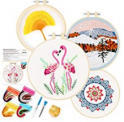Embroidery Starter Kit with Pattern Discount 40% off Amazon