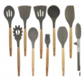 10-Piece Silicone Cooking Utensil Set Discount 35% coupon code off Amazon