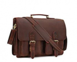 Leather Laptop Briefcase Discount 50% off Amazon