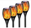 Landspace Solar Outdoor Torch Lights Discount 50% coupon code off Amazon
