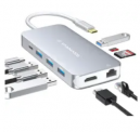 9-in-1 USB-C Hub Adapter Discount 37% coupon code off Amazon