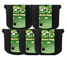5-Pack 5 Gallon Plant Grow Bags Discount 50% off Amazon