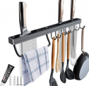 Utensil Racks 16 Inch Kitchen Hanging Rack with Discount 50% coupon code off Amazon