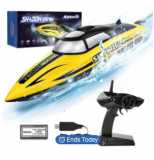 R208 Remote Control Boat Discount 45% coupon code off Amazon