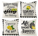 Summer Throw Pillow Covers 18×18 inches Set Discount 50% coupon code off Amazon