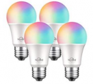 Smart Light Bulbs Works with Alexa Echo and Google Home Discount 60% coupon code off Amazon
