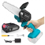 4″ 20V Cordless Electric Chainsaw Discount 30% coupon code off Amazon