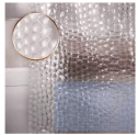 Waterproof Shower Curtain Liner EVA Thick Shower Curtain Discount 50% coupon code off Amazon