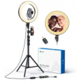 12″ LED Selfie Ring Light with 67″ Tripod Stand Discount 58% coupon code off Amazon