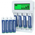 1,100mAh Battery Charger with 8 AAA Batteries Discount 40% coupon code off Amazon