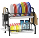 2-Tier Dish Drying Rack Discount 50% coupon code off Amazon