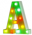 Multicolor Light up Letters Discount 50% off Amazon
