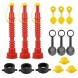 Gas Can Replacement Spout Kit 3-Pack Discount 40% coupon code off Amazon