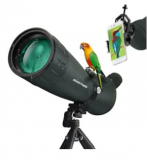 25-75X75 HD Spotting Scope Discount 50% coupon code off Amazon